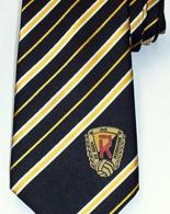 Zakázková výroba kravaty - vyšití barevného loga